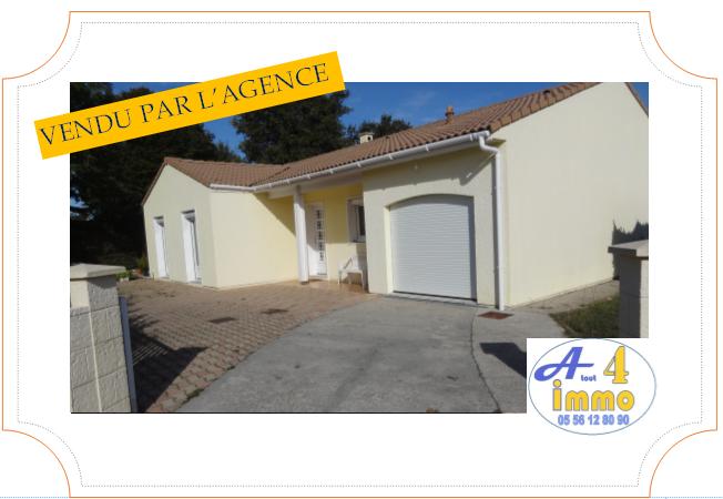 Maison 4 pièces 95 m² – Mérignac 33700