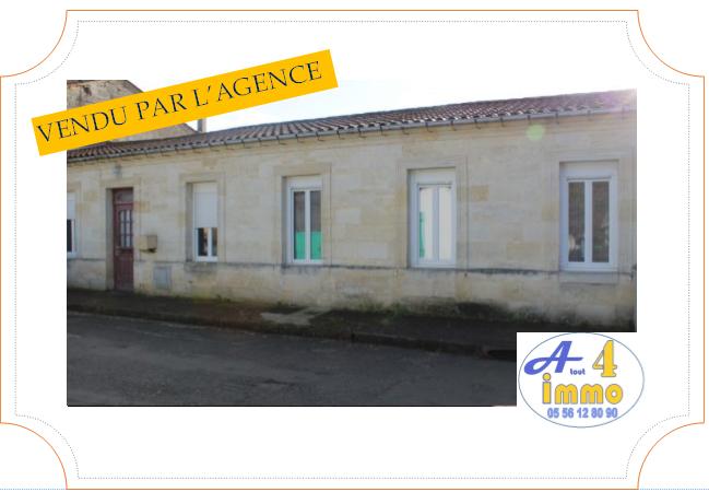 Maison de plain pied 160 m² – Labarde