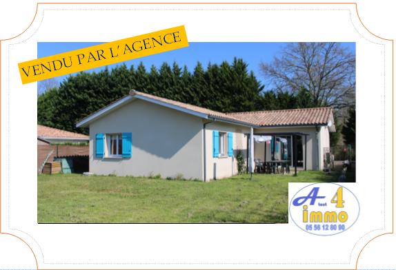 Maison récente de 101 m² – Le Barp 33114