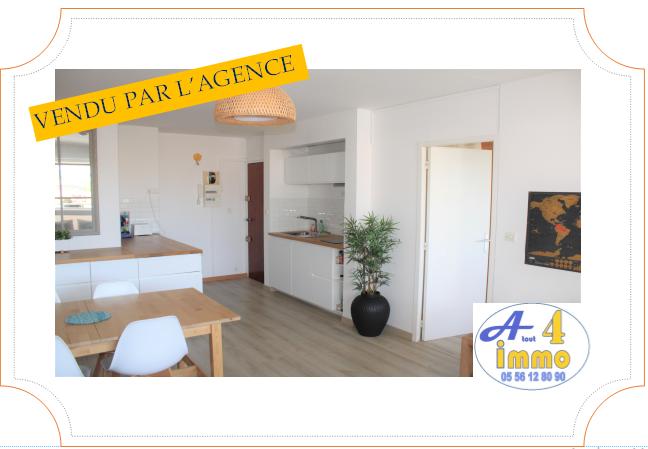 Appartement 2 pièces – Talence 33400