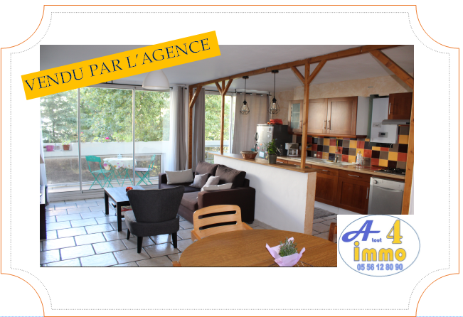 Appartement 4 pièces 86 m² – Mérignac 33700
