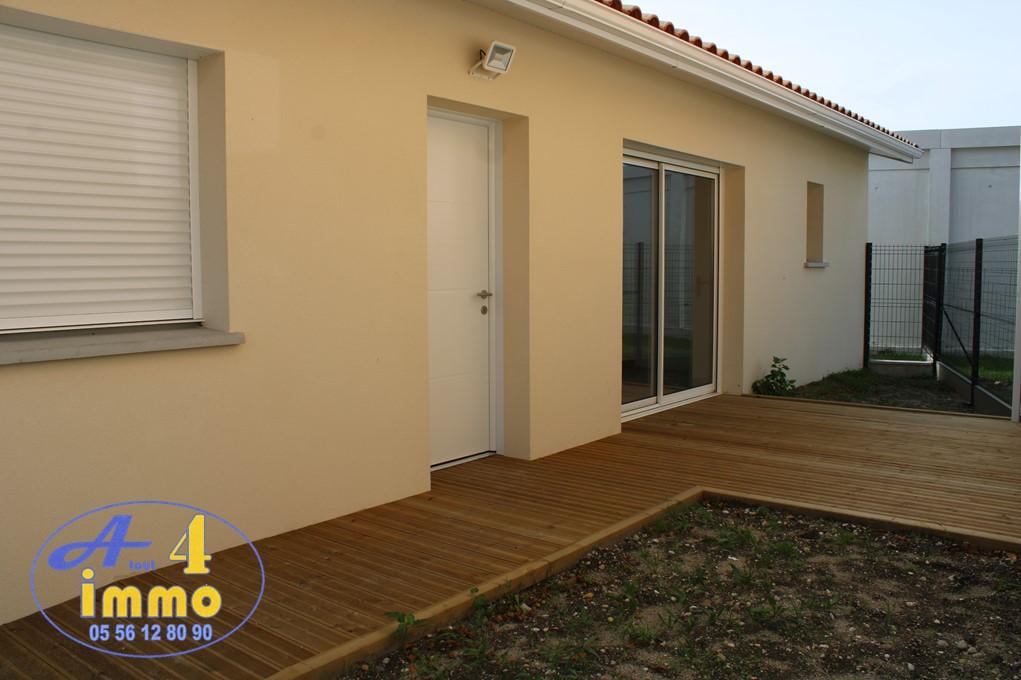 Maison plain-pied 35 m² – Parempuyre 33290