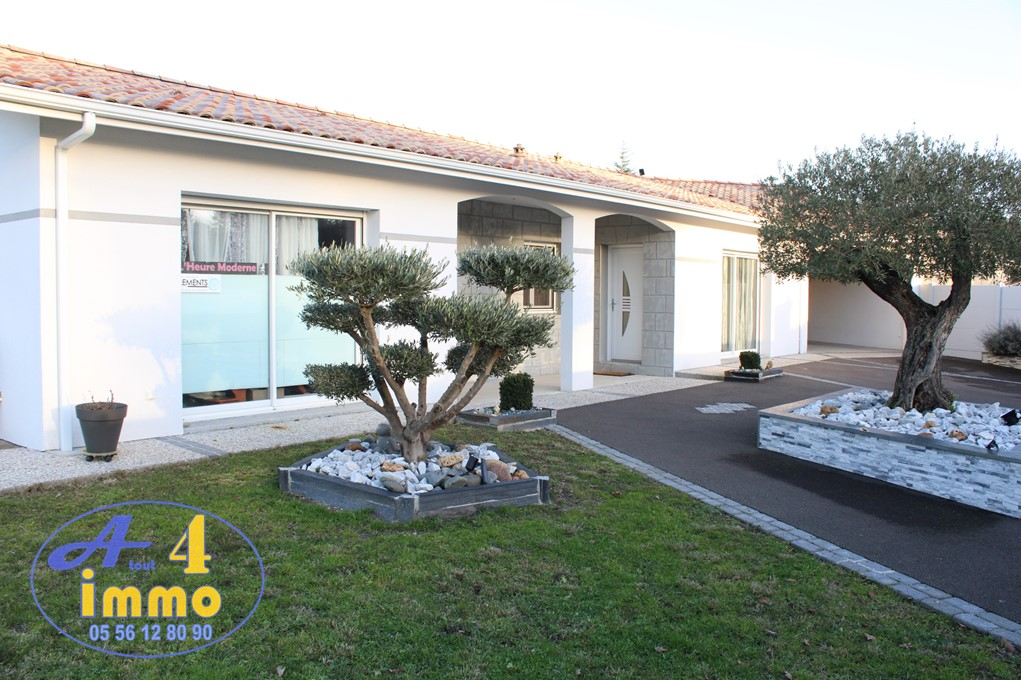 Maison de plain-pied 140 m² 7 pièces – Listrac Médoc 33480